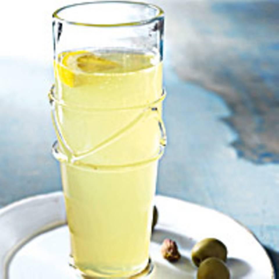 Zitronen-Aperitif