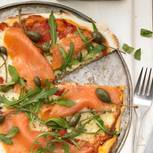 Pizza Salmone - Lachs-Pizza