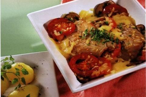 Fisch-Gemüse-Auflauf