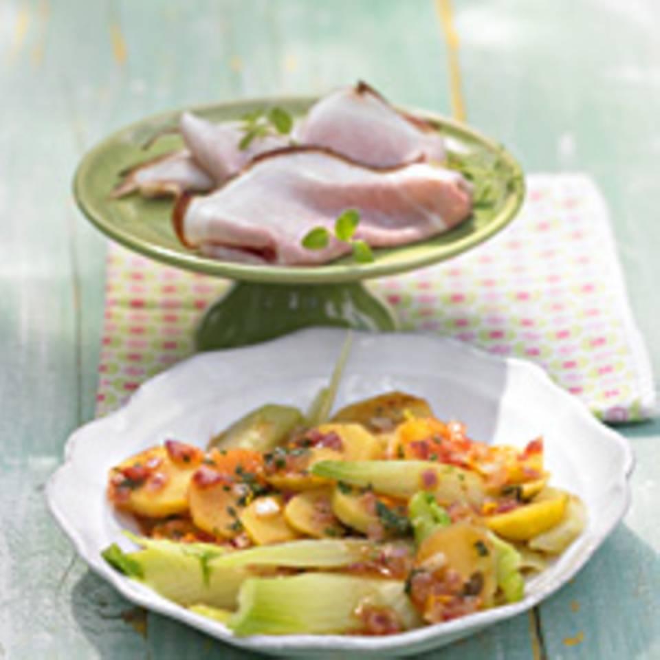 Warmer Fenchel-Kartoffel-Salat