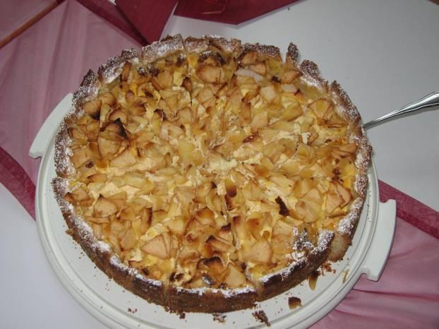Apfelkuchen Mit Quark So Geht S Brigitte De