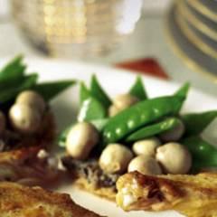 Tarteletts mit Champignons