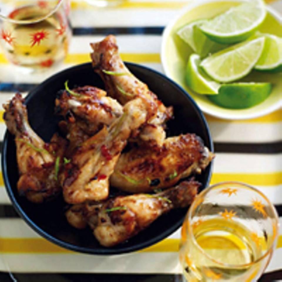 Hühnerflügel mit Tequila