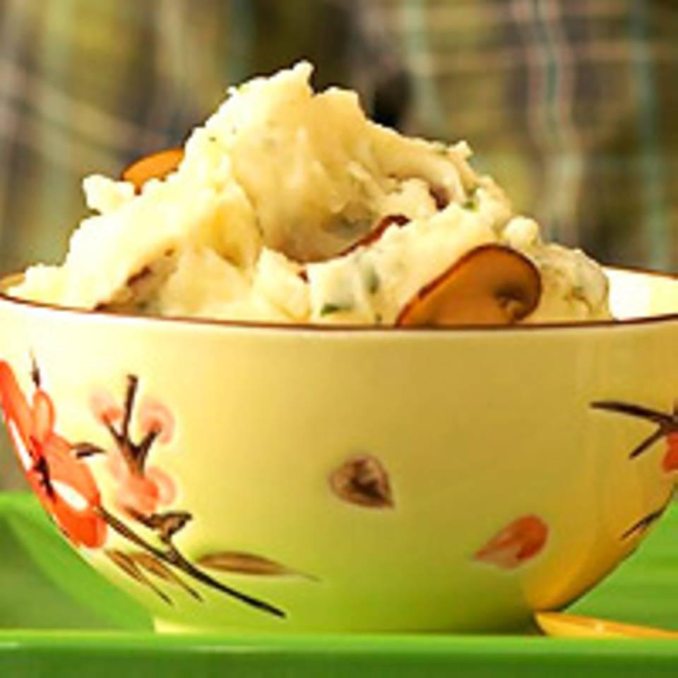 Kartoffelpüree mit Sourcream