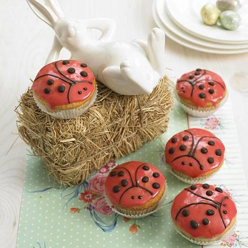 Marienkafer Muffins Brigitte De