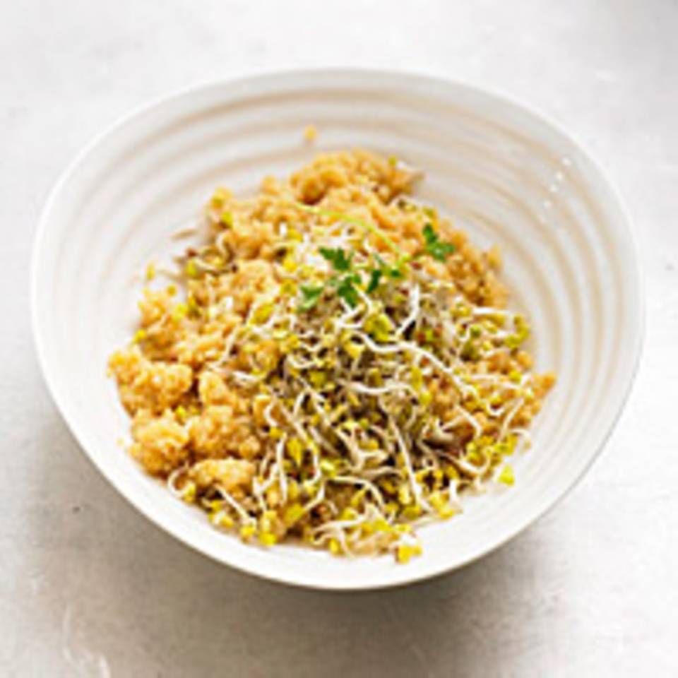 Quinoa-Sprossen-Salat