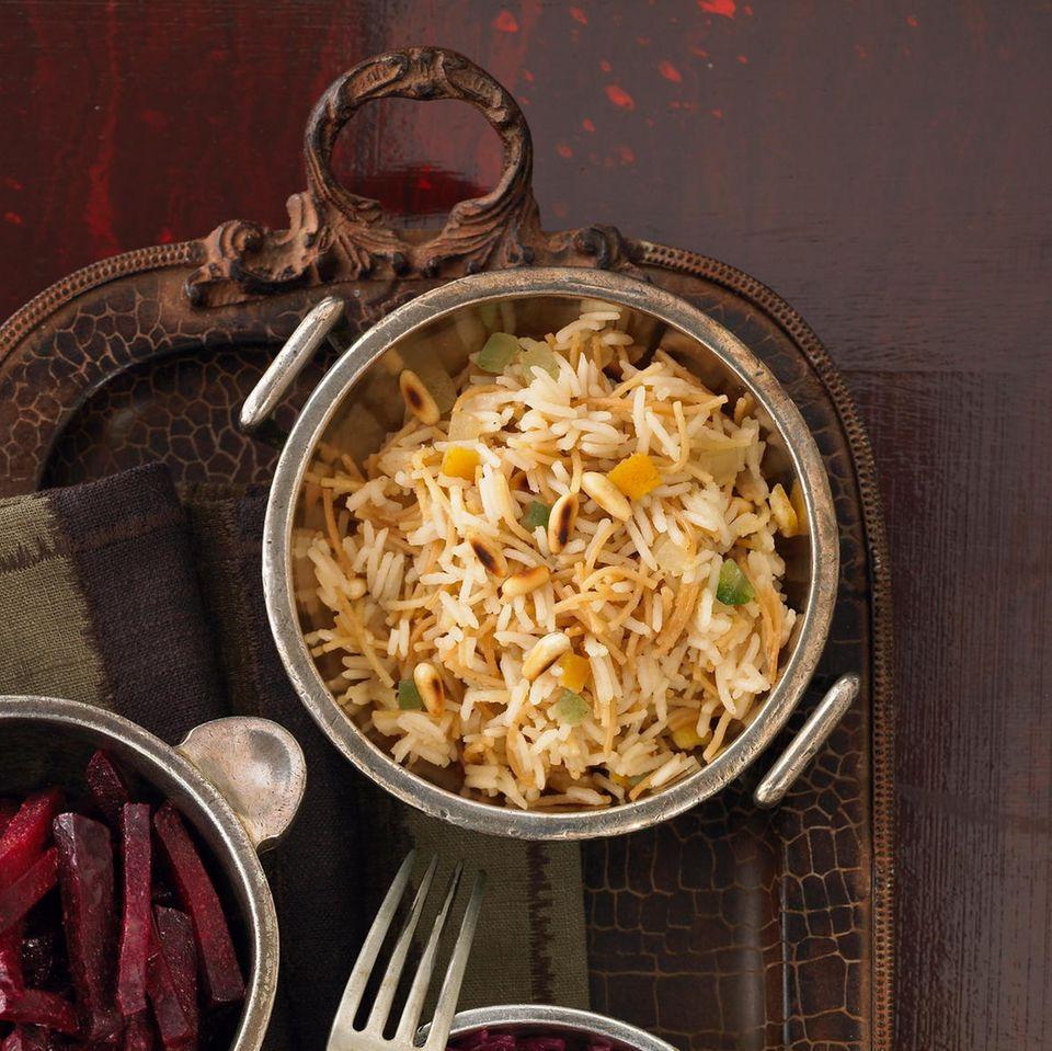 Sukkade-Reis mit Piment und Nelken