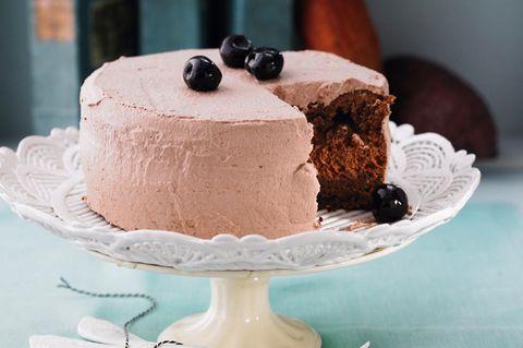Kleine Amarena-Schoko-Torte
