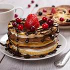 Pancake-Schoko-Türmchen