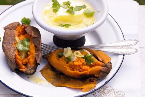 Süßkartoffeln vom Grill