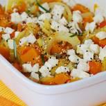 Kürbis-Fenchel-Gemüse