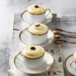 Schnelles Tiramisu mit getrockneten Kirschen und Sherry
