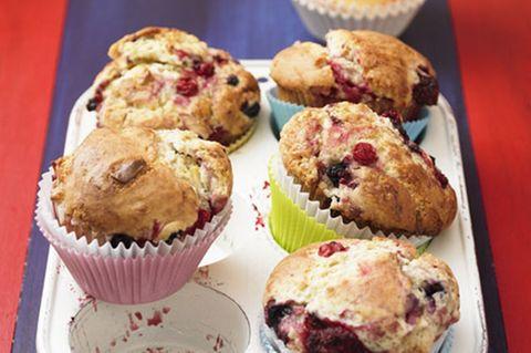 Beeren-Schoko-Muffins