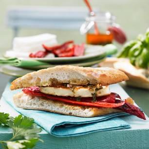 Grillkäse-Burger