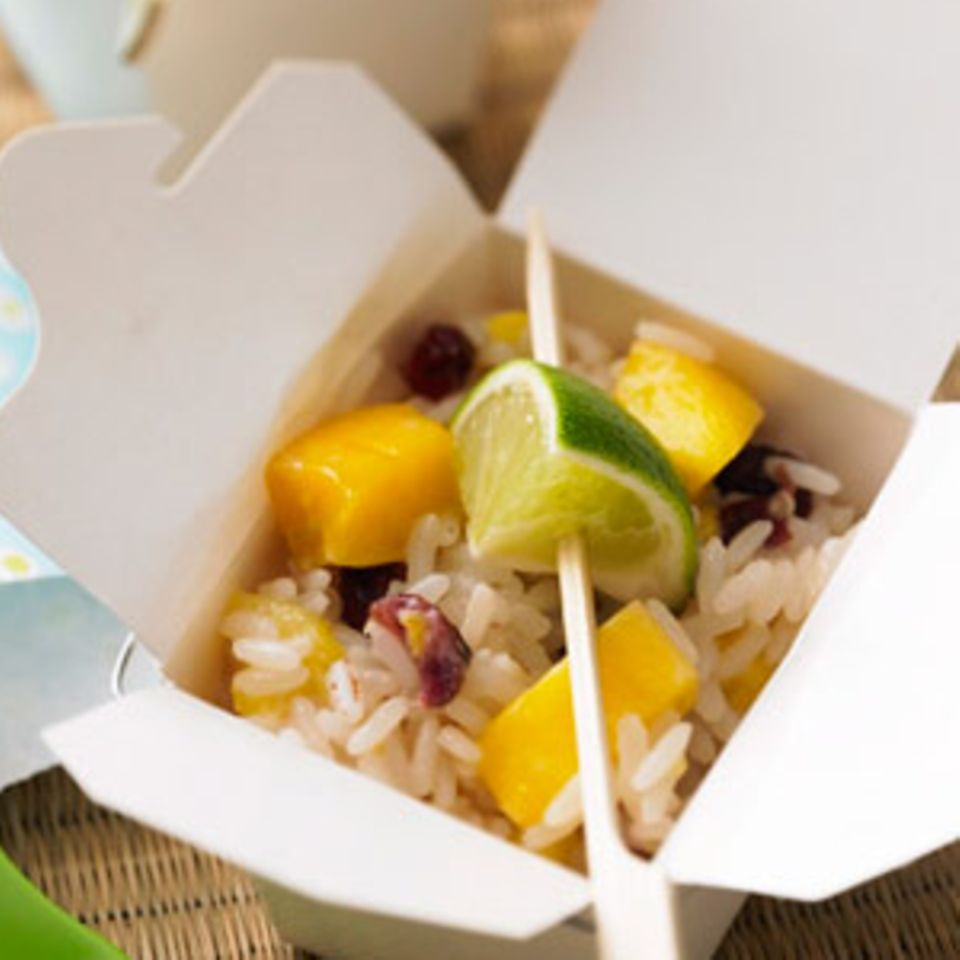 Süßer Reissalat