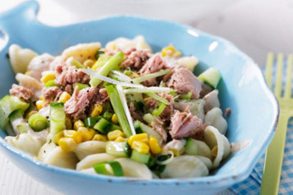Nudelsalat mit Thunfisch
