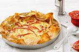 Zwiebelkuchen mit Paprika
