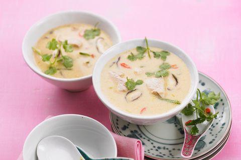 Zitronengras-Kokos-Suppe