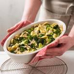 Brokkoli-Kartoffelgnocchi-Auflauf