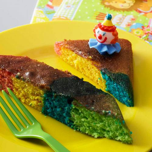 Regenbogen Zitronenkuchen Brigitte De