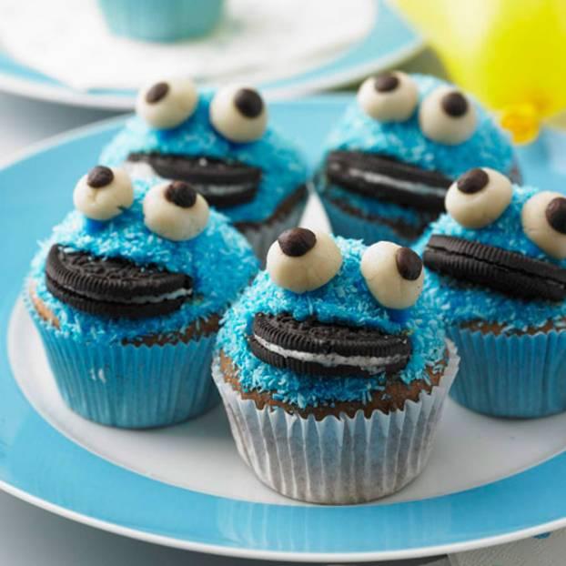 Krümelmonster Muffins Brigittede