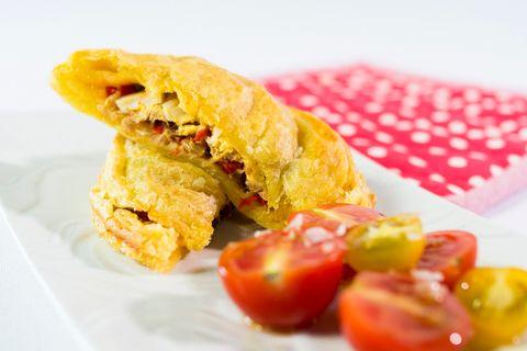 Gemüsetasche: Empanada