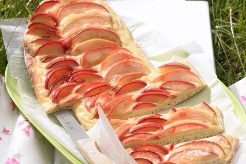 Apfel-Pflaumen-Streifen