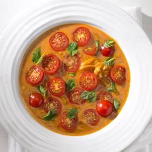 Tomatensuppe Brigitte fruchtige tomatensuppe mit gnocchi brigitte de