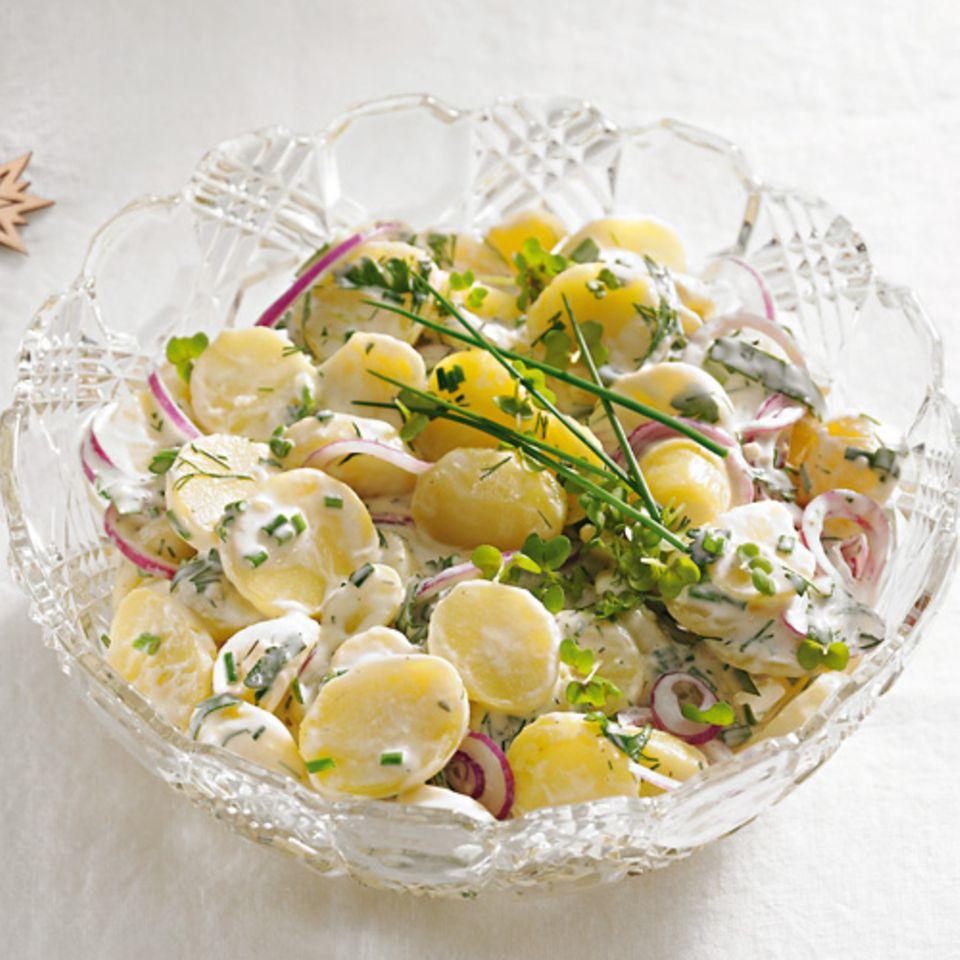 Kräuter-Kartoffelsalat