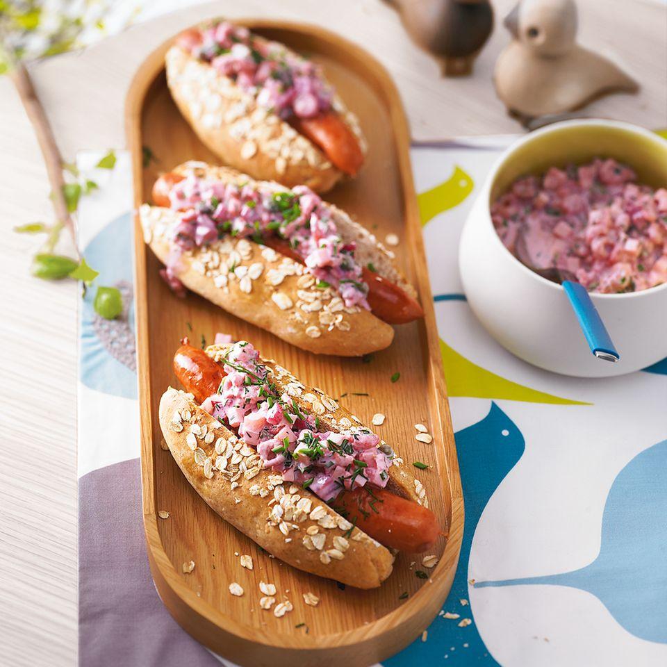 Hot Dog, wie ihn die BRIGITTE-Redaktion mag