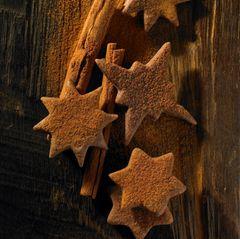 Schoko-Zimt-Sterne