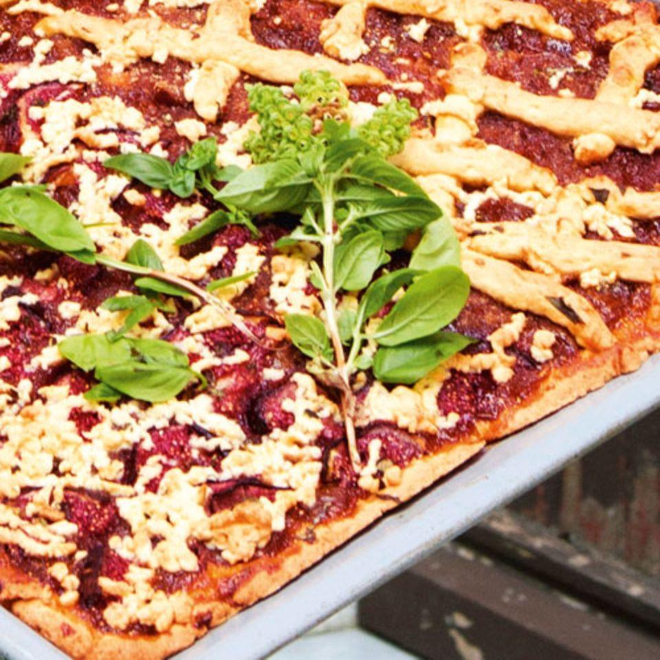 Crostata mit Feigen