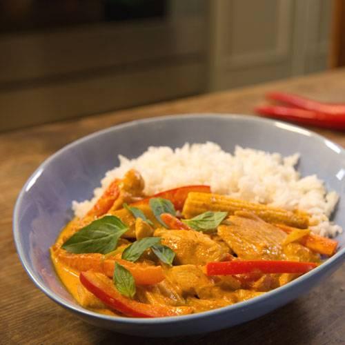 Thai Curry Mit Hähnchen Brigittede