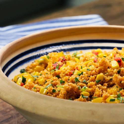 Couscous-Salat mit Paprika
