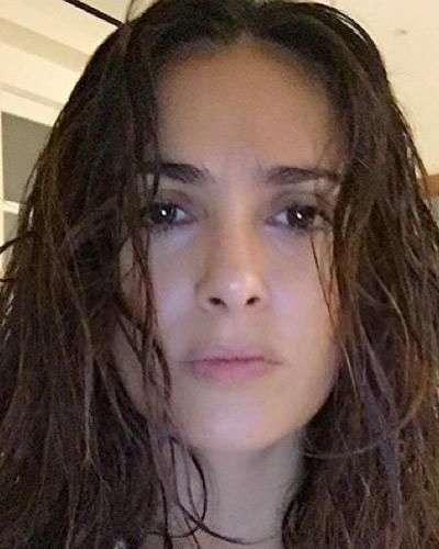 Ohne Make-up: Salma Hayek