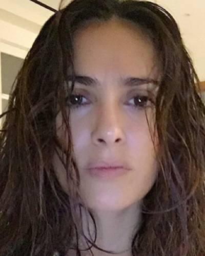 Ohne Make-up: Salma Hayek