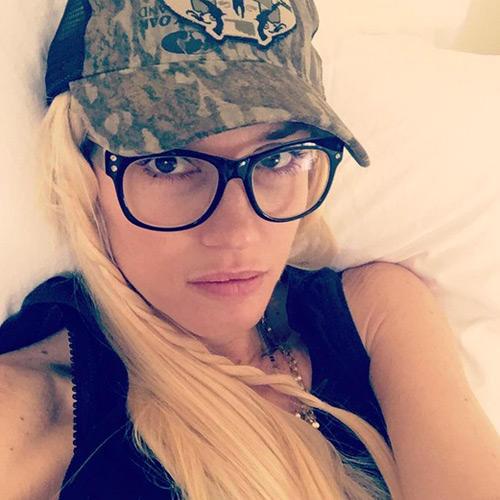 Stars ohne Make-up: Gwen Stefani