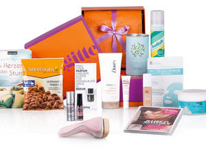 Abonniert jetzt unsere Beauty-Box mit tollen Produkten!