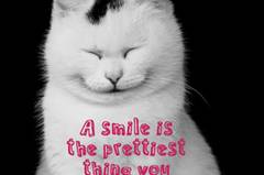 A smile is the prettiest thing you can wear