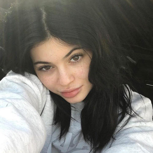 Stars ohne Make-up: Kylie Jenner