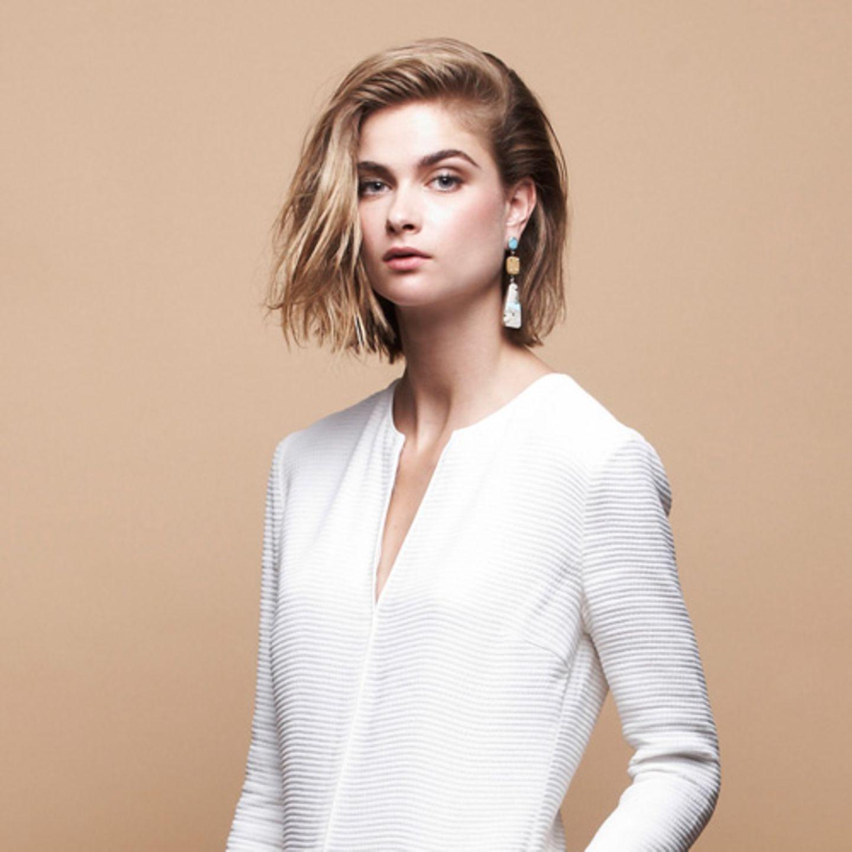 Schnitte & Styling: Frisuren für ein rundes Gesicht