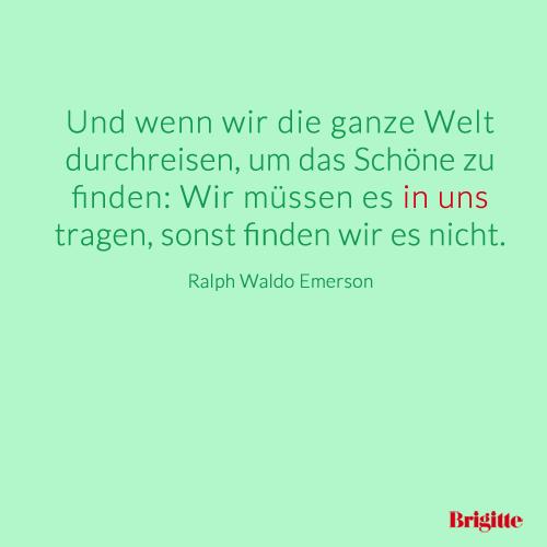 Zitate: Die schönsten Beauty-Zitate | BRIGITTE.de