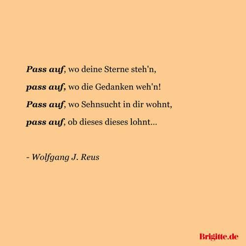 Sprüche: Zitate voller Sehnsucht | BRIGITTE.de