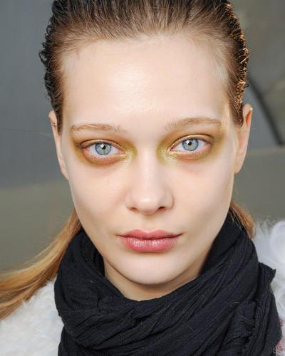 Herbst-Make-up-Trend: Golden Eye