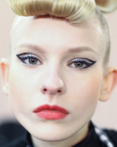 Herbst-Make-up-Trend: Lidstrich muss sein