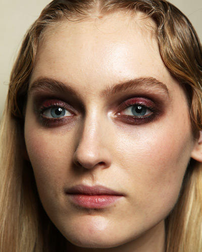 Herbst-Make-up-Trend: Marsalatöne