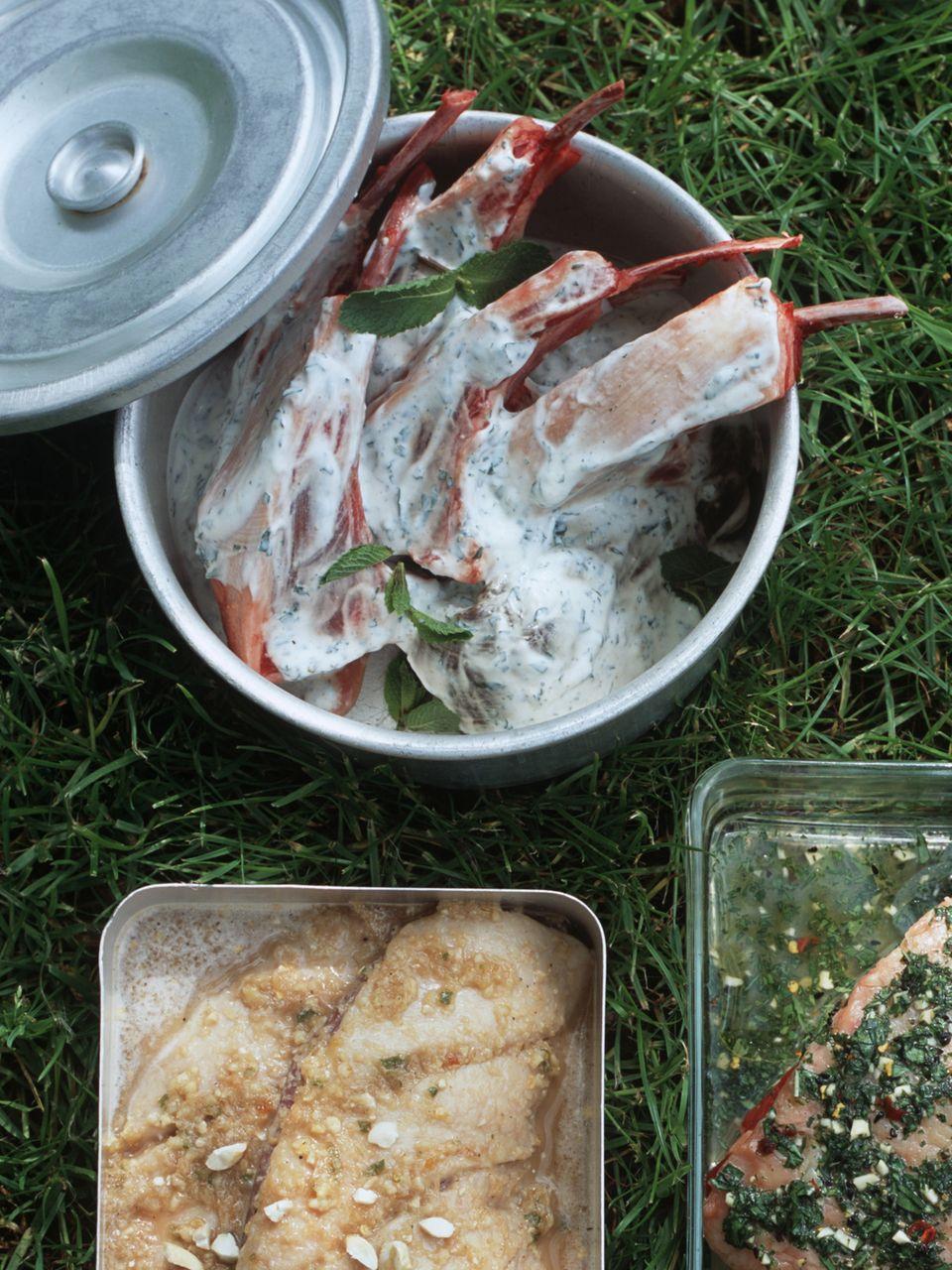 Grillmarinade: Joghurtmarinade für Lamm