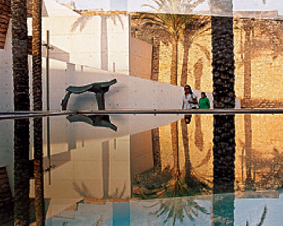 Innenansichten: der Hof des Es Baluard in Palma