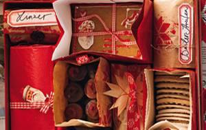 """Plätzchen verschenken: Weihnachtsanhänger für """"Süße Grüße"""""""