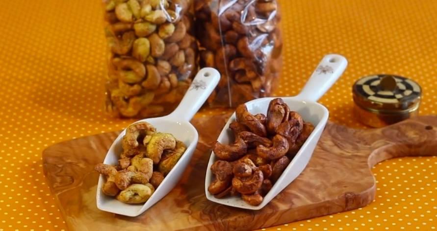 Rezepte: Zweierlei Gewürz-Cashews